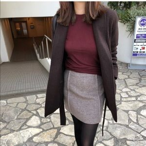 ❤️ Super Warm Brown Wool Coat Jacket